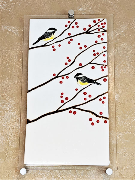 Song Birds and Cherry Blossoms